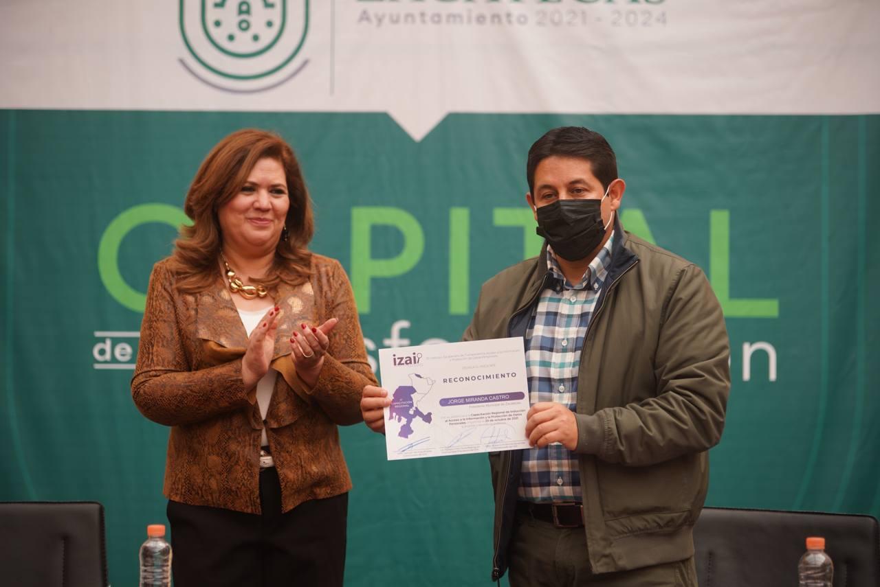 PARTICIPA LA CAPITAL EN JORNADA DE CAPACITACIÓN REGIONAL DE ACCESO A LA INFORMACIÓN Y PROTECCIÓN DE DATOS PERSONALES